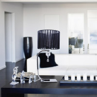 AZzardo Impress Table Black - Standleuchte