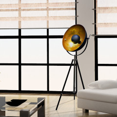 Zumaline Antenne Black/Gold Floor - Standleuchte - Elusia.at