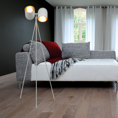 Zumaline Aston White Floor - Standleuchte - Elusia.at
