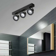 AZzardo Jerry 3 Black LED - Technische Deckenleuchten - Elusia.at