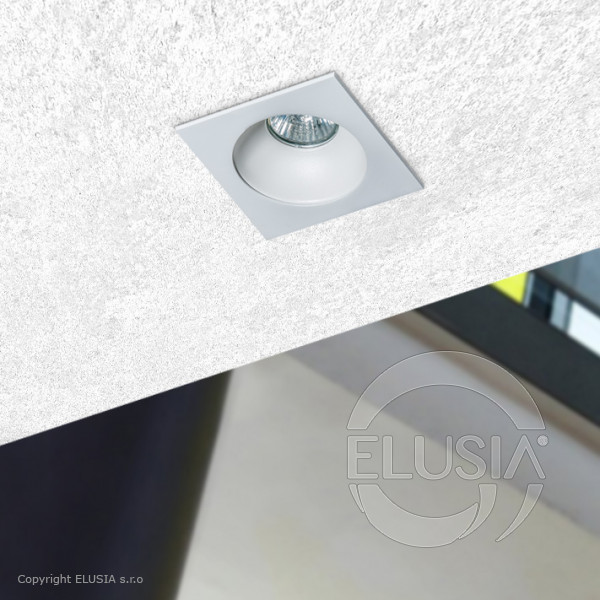 AZzardo Hugo 1 White Downlight - Deckenleuchten