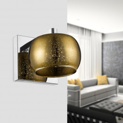 Zumaline Vista Wall Small Gold - Wandbeleuchtung - Elusia.at