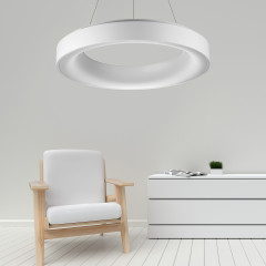 AZzardo Sovana 55 White Dimmable - Modernen Stil - Elusia.at