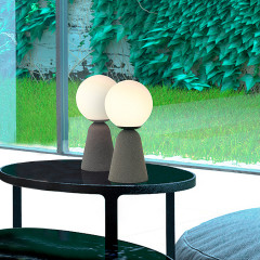 AZzardo Newtone B Table Dark Gray - Tischlampen - Elusia.at