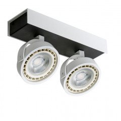AZzardo Max 2 White/Black LED  - Deckenleuchten - Elusia.at